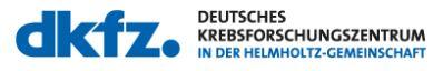 DKFZ Deutsches Krebsforschungszentrum